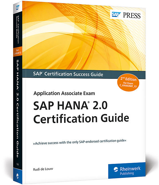 Sap Hana 20 Certification Guide Rudi De Louw Englische Bcher