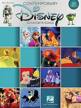 Notenblätter Contemporary Disney