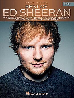 Notenblätter Best of Ed Sheeran
