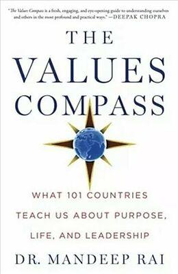 Fester Einband The Values Compass von Mandeep Rai
