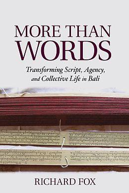 E-Book (epub) More Than Words von Richard Fox