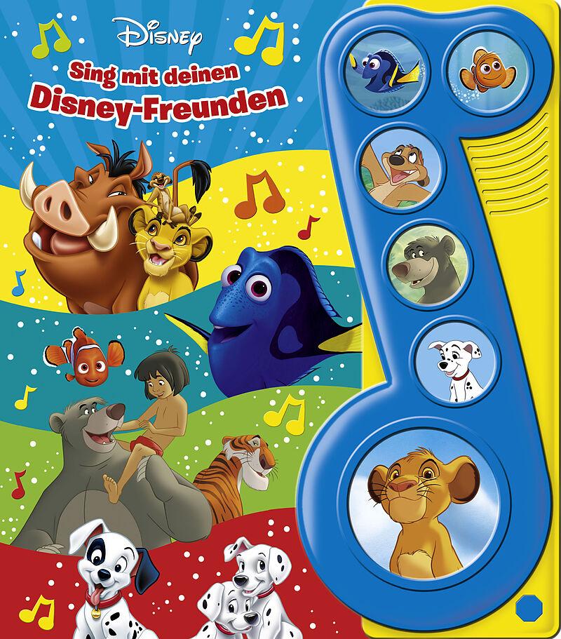 Disney Klassiker Sing Mit Deinen Disney Freunden Liederbuch Mit