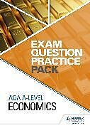 Spiralbindung AQA A Level Economics Exam Question Practice Pack von Hodder Education