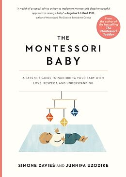 Couverture cartonnée The Montessori Baby de Simone Davies, Junnifa Uzodike