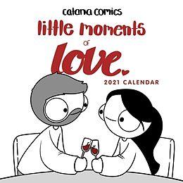 Kalender Catana Comics Little Moments of Love 2021 Wall Calendar von Catana Chetwynd