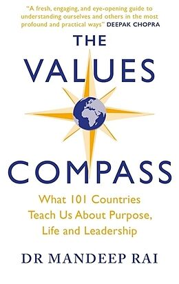 Kartonierter Einband The Values Compass von Mandeep Rai