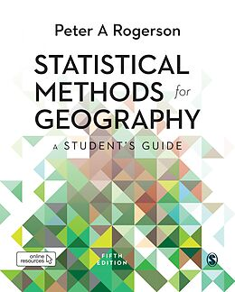 E-Book (pdf) Statistical Methods for Geography von Peter A. Rogerson