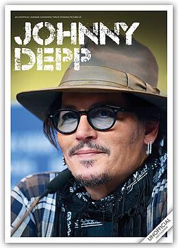 Kalender Johnny Depp 2022 - A3-Posterkalender von Red Star Publishing/Carousel