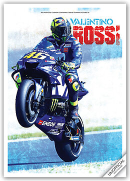 Kalender Valentino Rossi 2022 - A3-Posterkalender von Carousel