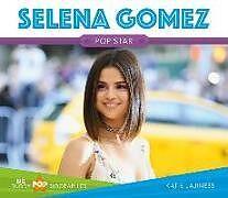Fester Einband Selena Gomez von Katie Lajiness