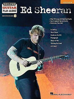 Ed Sheeran Notenblätter Deluxe Guitar Playalong vol.9 - Ed Sheeran (+Audio Access)