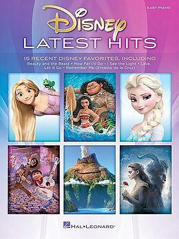Notenblätter Disney - Latest Hits