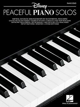 Notenblätter Disney peaceful Piano Solos