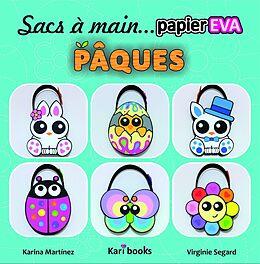 eBook (epub) Sacs a main en papier mousse EVA : Paques de Karina Martinez Ramirez