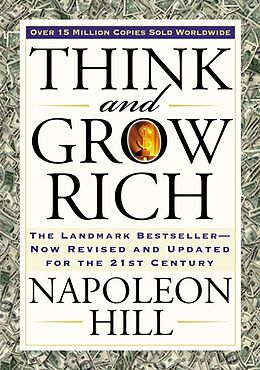 Kartonierter Einband Think and Grow Rich von Napoleon Hill