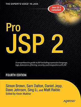 Kartonierter Einband Pro JSP 2 von Simon Brown, Sam Dalton, Daniel Jepp