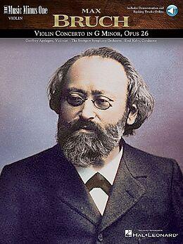 Max Bruch Notenblätter Music minus one Violin