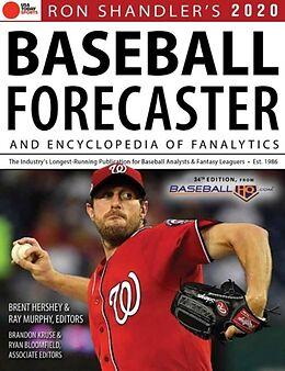 Kartonierter Einband Ron Shandler's 2020 Baseball Forecaster von Brent Hershey, Brandon Kruse, Ray Murphy
