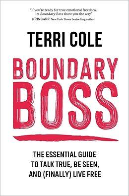 Fester Einband Boundary Boss von Terri Cole