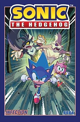 Kartonierter Einband Sonic The Hedgehog, Vol. 4: Infection von Ian Flynn, Adam Bryce Thomas, Tracy Yardley