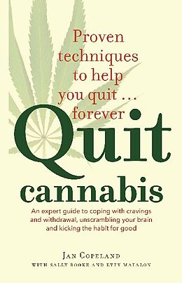 Kartonierter Einband Quit Cannabis von Jan Copeland