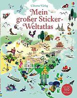 Mein großer Sticker-Weltatlas [Version allemande]