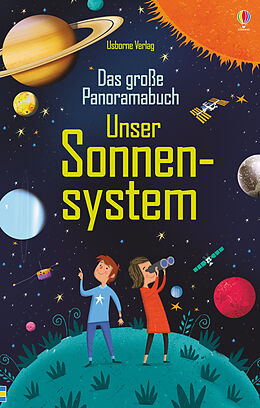 Fester Einband Das große Panoramabuch: Unser Sonnensystem von Sam Smith