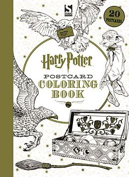 Harry Potter Postcard Colouring Book - Warner Brothers - Englische ...
