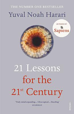 Kartonierter Einband 21 Lessons for the 21st Century von Yuval Noah Harari