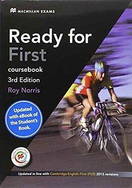 Kartonierter Einband Ready for First 3rd Edition - key + eBook Student's Pack von Roy Norris