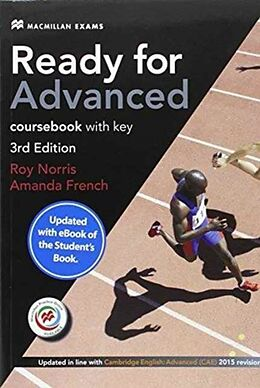 Kartonierter Einband Ready for Advanced 3rd edition + key + eBook Student's Pack von Amanda French, Roy Norris