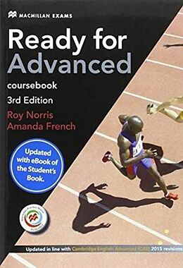 Kartonierter Einband Ready for Advanced 3rd edition. Coursebook with eBook. Student's Pack without key von Amanda French, Roy Norris
