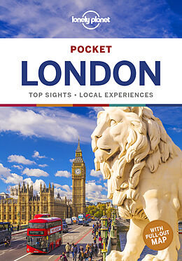 Kartonierter Einband Lonely Planet Pocket London von Damian Harper, Peter Dragicevich, Steve Fallon
