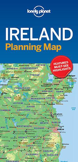 gefaltete (Land)Karte Lonely Planet Ireland Planning Map von Lonely Planet