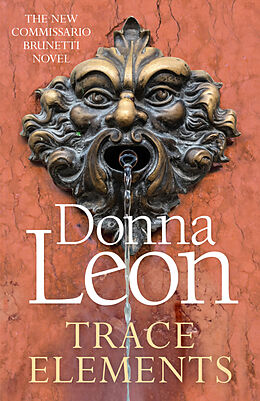 Kartonierter Einband Trace Elements von Donna Leon