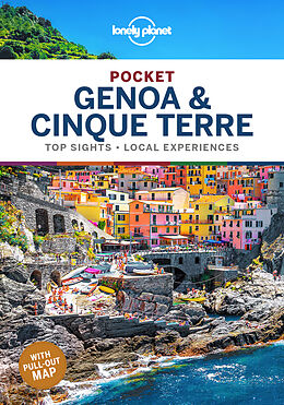 Kartonierter Einband Lonely Planet Pocket Genoa & Cinque Terre von Regis St. Louis
