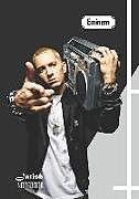 Kartonierter Einband Notebook: Eminem Medium College Ruled Notebook 129 Pages Lined 7 X 10 in (17.78 X 25.4 CM) von Jarish