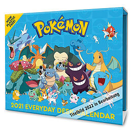 Kalender Pokemon 2022 von Danilo Promotions Ltd