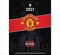 Kalender Manchester United FC 2021 Deluxe Calendar - Official Deluxe A3 Wall Format Calendar von