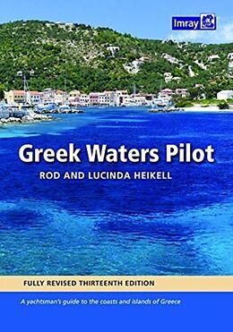 Fester Einband GREEK WATERS PILOT von Rod & Lucinda Heikell