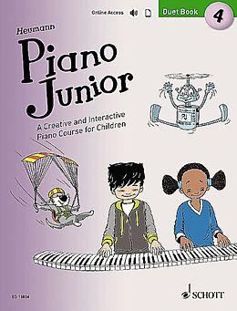 Notenblätter Piano junior - Duet Book vol.4