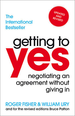 Kartonierter Einband Getting to Yes von Roger Fisher, William Ury