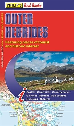 Kartonierter Einband Philip's Outer Hebrides: Leisure and Tourist Map 2020 von Philip's Maps