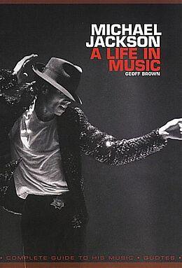 Kartonierter Einband Michael Jackson von Geoff Brown