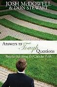 Kartonierter Einband Answers to Tough Questions von Josh Mcdowell, Don Stewart