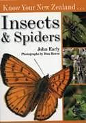 Kartonierter Einband Know Your New Zealand Insects & Spiders von John Early
