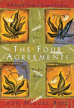 Couverture cartonnée The Four Agreements de Miguel Ruiz
