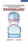 Kartonierter Einband What Every Teacher Needs to Know About Psychology von David Didau, Nick Rose