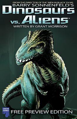 E-Book (pdf) Dinosaurs Vs Aliens: Free Issue, Issue 0 von Barry Sonnenfeld