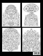 Kartonierter Einband Sugar Skull Coloring Book von Blue Wave Press